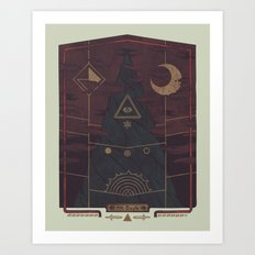 Mount Death Art Print
