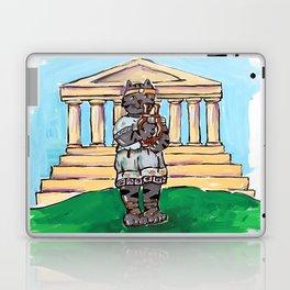 Greek Cat Laptop & iPad Skin
