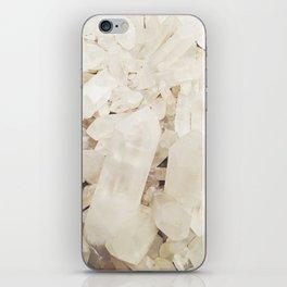 Quartz Crystals iPhone Skin