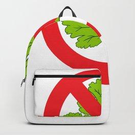 I hate cilantro Coriander Backpack