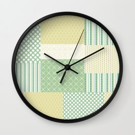 Beautiful Patch 7 Wall Clock