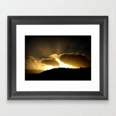 Morning has Broken! Framed Art Print