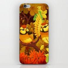 The seasons   Autumn birds iPhone & iPod Skin