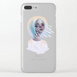 Absently present Clear iPhone Case