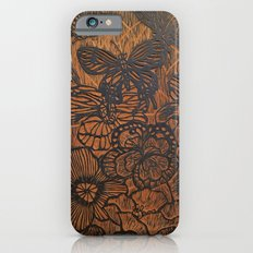 Flowers and Butterflies Slim Case iPhone 6s