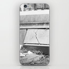 very old grave iPhone Skin