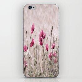 Poppy Pastell Pink iPhone Skin