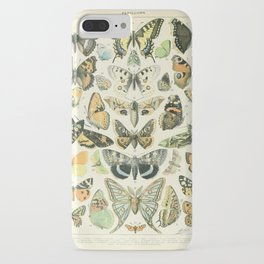 Butterfly, ButterFlies, Papillons - Vintage Map! iPhone Case