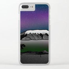 Mount Kilimanjaro Clear iPhone Case