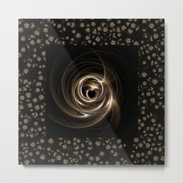 Abstract 17 001g Metal Print
