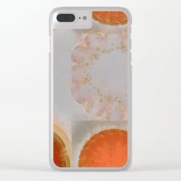 Parasexual Constitution Flowers  ID:16165-134603-28710 Clear iPhone Case