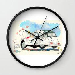 Escargot Love Wall Clock