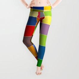 Squares Leggings