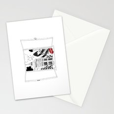 London window Stationery Cards