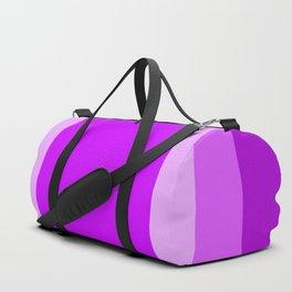Light Purple Square Design Duffle Bag