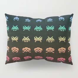 Invader Space Pillow Sham
