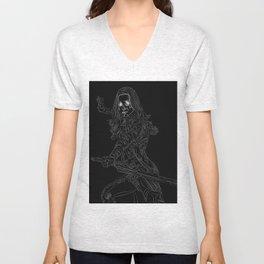 Gamora, GuardiansOfTheGalaxy Unisex V-Neck