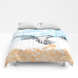 Hummingbird print Comforters