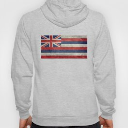 State flag of Hawaii - Vintage version Hoody