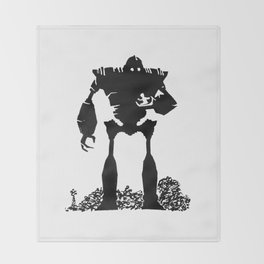 Iron Giant Throw Blanket