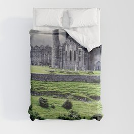 World Popular Historic The Rock Of Cashel Castle County Tipperary Ireland Europe Ultra HD Comforters