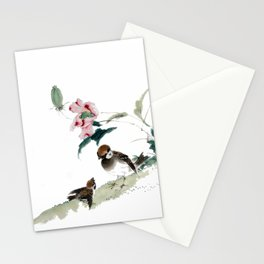Learning the ways of the world Stationery Cards