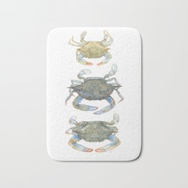 Blue Crabs Bath Mat