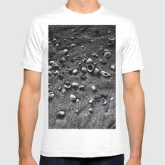 Sea Shells Mens Fitted Tee White MEDIUM