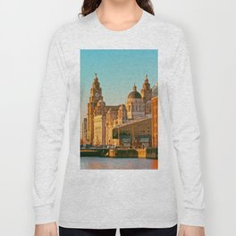 Pier Head and the Albert Dock Long Sleeve T-shirt