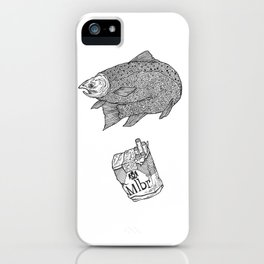 Fish Smokes iPhone Case