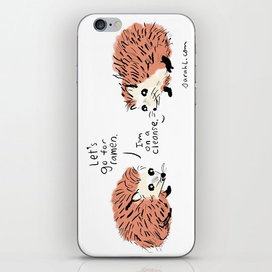 I'm on a cleanse. iPhone & iPod Skin