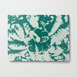 green Pine cones Metal Print