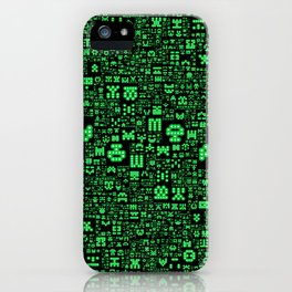 Hello Invaders iPhone Case