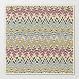 Ethnic patterns. Tribal pattern . Canvas Print