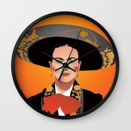 Frida charra Wall Clock