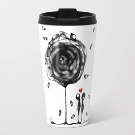 """L'amore accade"" Travel Mug"
