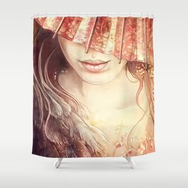 Japanese Dream Shower Curtain