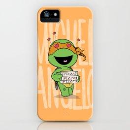TMNT: Michelangelo (Cute & Dangerous) iPhone Case
