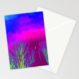 Magenta Sky Stationery Cards