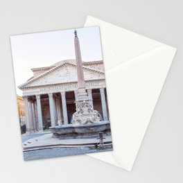 Pantheon - Rome Italy Travel Photography Stationery Cards