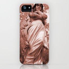 WallaAngelRust iPhone Case