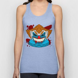 Terror Clown Unisex Tank Top