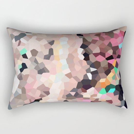 Pink Moon Love Rectangular Pillow