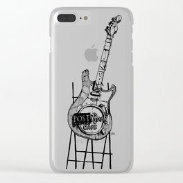 Post Rock Cafe Clear iPhone Case