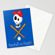 Baseball or Death! Stationery Cards