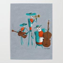 Mariachi Muerto Poster