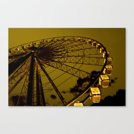Last night Canvas Print