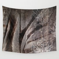 fabric Wall Tapestries featuring FABRIC #5 by ED design for fun