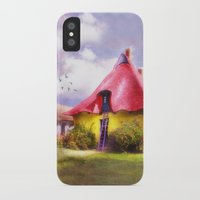 once upon a  time iPhone & iPod Cases featuring Once upon a time by INA FineArt