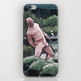 Pink Guy iPhone Skin